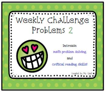 Kiss Your Brain Math Challenge 2