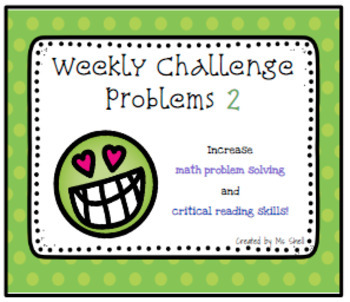 Weekly Challenge Problems 2