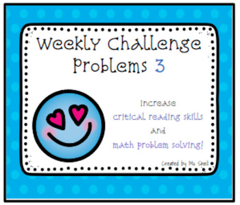 Weekly Challenge Problems 3