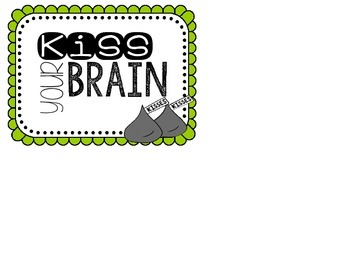 Kiss Your Brain Jar Label