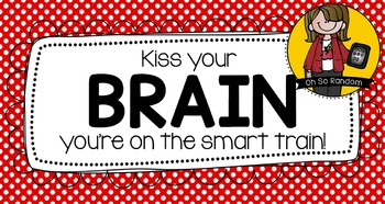 Kiss Your Brain Testing Treat