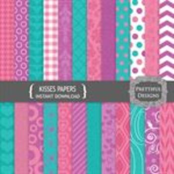 Kisses Paper Pack