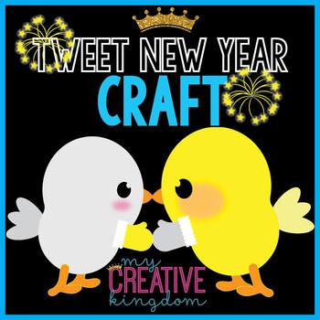 Kissing Birds New Year Craft