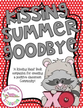 Kissing Hand Book Companion-Back to School