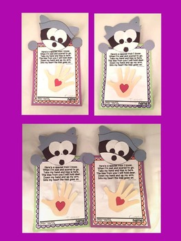Kissing Hand First Day Craft