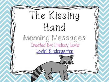 Kissing Hand - Morning Messages