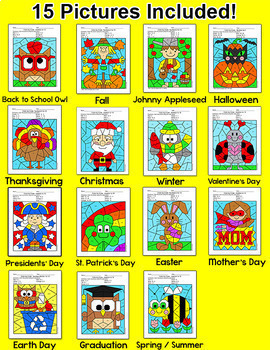 Addition and Subtraction Worksheets - Winter Math, Valentine's Day Math & More!