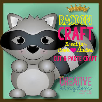 Kissing Raccoon Craft