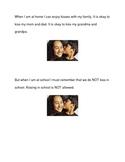 Kissing and Hugging Social Story Bundle
