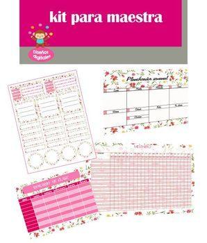 Kit Escolar para Maestra