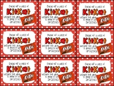 Kit Kat Beginning of Year Gift Tag-Break off a piece of KitKat