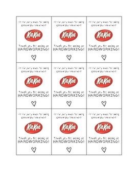 Kit Kat | Thank You Treat
