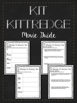 Kit Kittredge American Girl Movie Guide- Great Depression