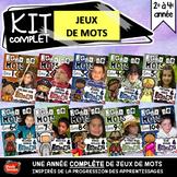Centres de littératie: French games / Centers reading writing Bundle