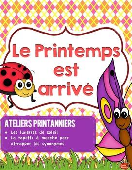 Kit de 5 ATELIERS// Le Printemps