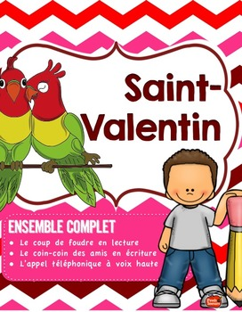 Kit de 5 ATELIERS// Saint-Valentin
