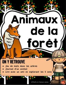 Kit de 5 ATELIERS//Les Animaux de la Forêt