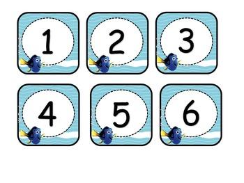 Kit de Calendario Finding Dory