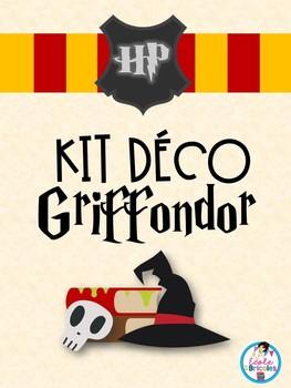 Kit déco-Griffondor