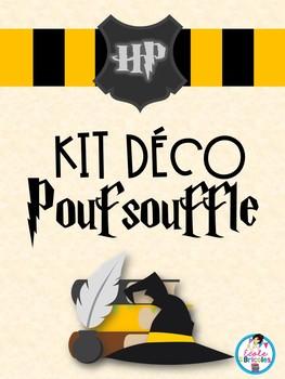 Kit déco-Poufsouffle