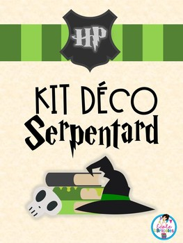 Kit déco-Serpentard
