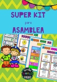 Kit para Asamblea Spanish Circle Time Morning work español