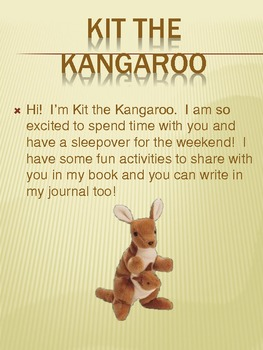 Kit the Kangaroo Class pet