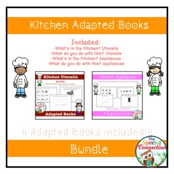 Kitchen Adapted Book Bundle