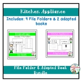 Kitchen Appliance Adapted Book and File Folder Bundle