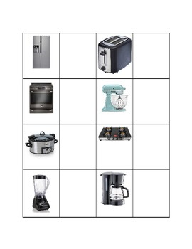 Kitchen Appliance to Function Match