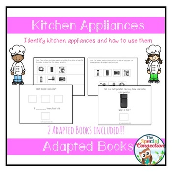 Kitchen Appliances: Adapted Book