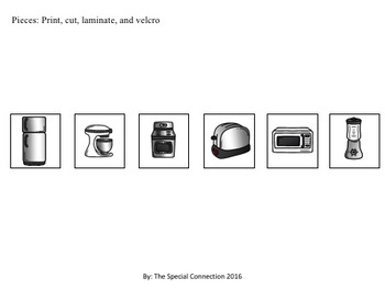 Kitchen Appliances: File Folders