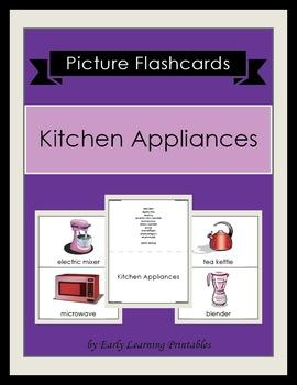 Kitchen Appliances Picture Flashcards