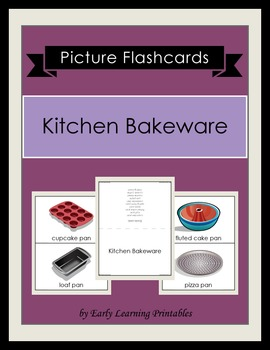 Kitchen Bakeware Picture Flashcards