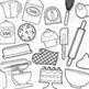 Kitchen Baking Clip Art (Digital Use Ok!)