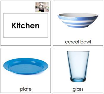 Kitchen Cards - Toddler