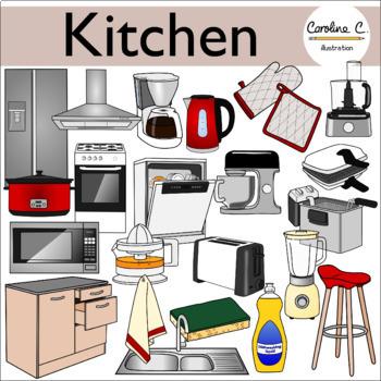 Kitchen Clip Art