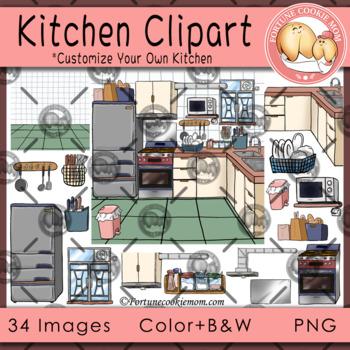 Kitchen Clipart