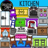 Kitchen Clipart {Creative Clips Clipart}