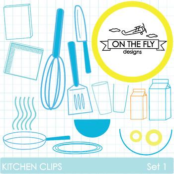 Kitchen Clips Set 1  {Freebie!}