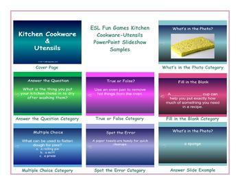 Kitchen Cookware-Utensils PowerPoint Slideshow