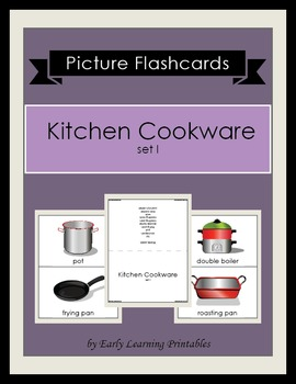 Kitchen Cookware set I Picture Flashcards