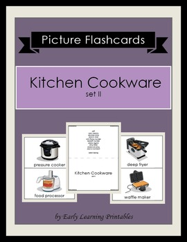 Kitchen Cookware (set II) Picture Flashcards