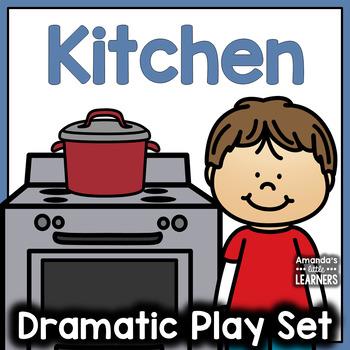 Kitchen Dramatic Play Set