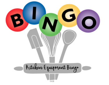 Kitchen Equipment Bingo