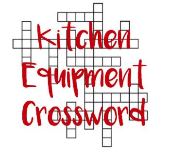 Kitchen Equipment Crossword