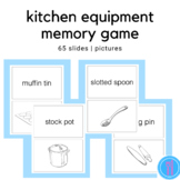 Kitchen Equipment Game