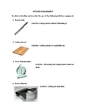 Kitchen Equipment Study Guide