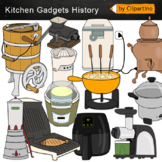 Kitchen Gadgets History Clipart
