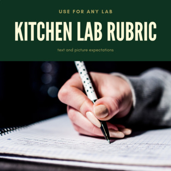 Kitchen Lab Worksheets Teaching Resources Teachers Pay